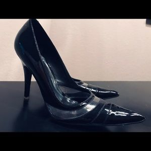 Aldo Black Patent Leather Heels